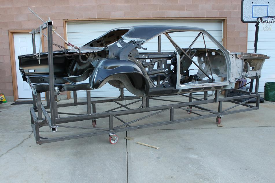66-70 B Body Frame Jig - 521 Restorations521 Restorations